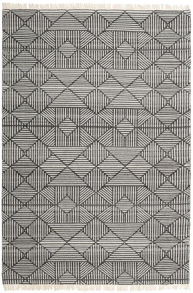 Mauri Χαλι 200X300 Σύγχρονα Χειροποίητη Ύφανση Σκούρο Γκρι/Ανοιχτό Γκρι (Μαλλί, Ινδικά)