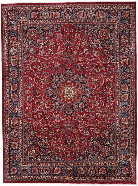 Mashad Χαλι 294X396 Ανατολής Χειροποιητο Σκούρο Κόκκινο/Σκούρο Γκρι Μεγαλα (Μαλλί, Περσικά/Ιρανικά)