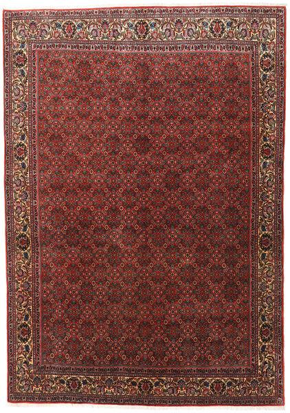 Bidjar Zanjan Χαλι 202X288 Ανατολής Χειροποιητο Σκούρο Κόκκινο/Σκούρο Καφέ (Μαλλί, Περσικά/Ιρανικά)