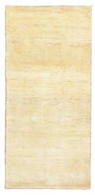 Γκάμπεθ Περσία Χαλι 81X171 Σύγχρονα Χειροποιητο Χαλι Διαδρομοσ Κίτρινος/Μπεζ (Μαλλί, Περσικά/Ιρανικά)