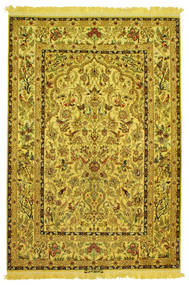 Isfahan Μετάξι Ύφανση Εικόνα/Φωτογραφία Υπογράφεται: Nasr Χαλι 142X210 Ανατολής Χειροποιητο (Μάλλινα/Μεταξωτά, Περσικά/Ιρανικά)