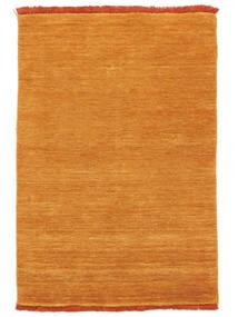 Χειροκίνητου Αργαλειού Fringes - Πορτοκαλί Χαλι 200X300 Σύγχρονα Πορτοκαλί/Ανοιχτό Καφέ (Μαλλί, Ινδικά)
