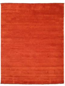 Χειροκίνητου Αργαλειού Fringes - Στο Χρώμα Της Σκουριάς/Κόκκινα Χαλι 200X250 Σύγχρονα Στο Χρώμα Της Σκουριάς/Πορτοκαλί (Μαλλί, Ινδικά)