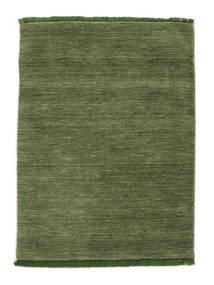 Χειροκίνητου Αργαλειού Fringes - Λαδί Χαλι 120X180 Σύγχρονα Λαδί (Μαλλί, Ινδικά)