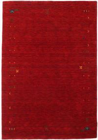 Γκάμπεθ Loom Frame - Κόκκινα Χαλι 140X200 Σύγχρονα Σκούρο Κόκκινο/Kόκκινα (Μαλλί, Ινδικά)