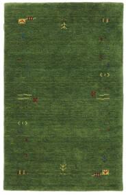 Γκάμπεθ Loom Frame - Λαδί Χαλι 100X160 Σύγχρονα Σκούρο Πράσινο/Σκούρο Πράσινο (Μαλλί, Ινδικά)