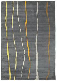 Flaws Handtufted - Γκρι Χαλι 200X300 Σύγχρονα Ανοιχτό Γκρι/Σκούρο Γκρι/Μπλε (Μαλλί, Ινδικά)