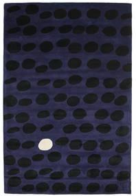 Camouflage Handtufted - Σκούρο Χαλι 200X300 Σύγχρονα Μαύρα/Σκούρο Μπλε (Μαλλί, Ινδικά)