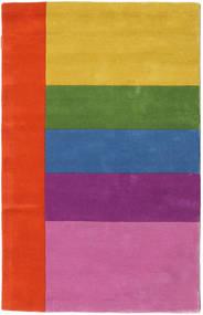 Colors By Meja Handtufted Χαλι 100X160 Σύγχρονα Ροζ/Στο Χρώμα Της Σκουριάς (Μαλλί, Ινδικά)