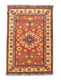 Afghan Kargahi Χαλι 84X122 Ανατολής Χειροποιητο Kόκκινα/Σκούρο Μπεζ (Μαλλί, Αφγανικά)