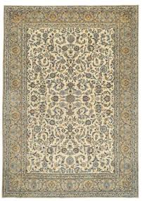 Keshan Πατίνα Υπογράφεται: Tabatabai Χαλι 275X390 Ανατολής Χειροποιητο Μπεζ/Σκούρο Γκρι Μεγαλα (Μαλλί, Περσικά/Ιρανικά)
