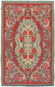 Κιλίμ Rose Moldavia Χαλι 154X242 Ανατολής Χειροποίητη Ύφανση Στο Χρώμα Της Σκουριάς/Λαδί (Μαλλί, Μολδαβία)