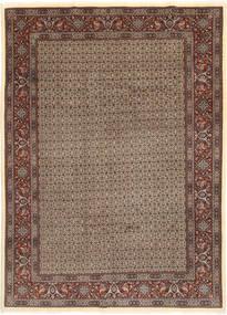 Moud Sherkat Farsh Χαλι 203X283 Ανατολής Χειροποιητο Ανοιχτό Γκρι/Σκούρο Κόκκινο (Μάλλινα/Μεταξωτά, Περσικά/Ιρανικά)