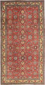 Tabriz Πατίνα Χαλι 168X318 Ανατολής Χειροποιητο Σκούρο Κόκκινο/Ανοιχτό Καφέ (Μαλλί, Περσικά/Ιρανικά)