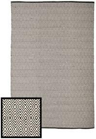 Diamond - Μαύρα/White Χαλι 250X300 Σύγχρονα Χειροποίητη Ύφανση Ανοιχτό Γκρι/Σκούρο Γκρι Μεγαλα (Βαμβάκι, Ινδικά)