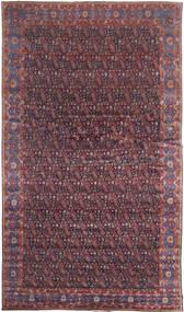 Senneh Χαλι 368X639 Ανατολής Χειροποιητο Σκούρο Καφέ/Μωβ Μεγαλα (Μαλλί, Περσικά/Ιρανικά)