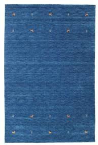 Γκάμπεθ Loom Two Lines - Μπλε Χαλι 190X290 Σύγχρονα Σκούρο Μπλε/Μπλε (Μαλλί, Ινδικά)