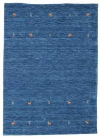 Γκάμπεθ Loom Two Lines - Μπλε Χαλι 140X200 Σύγχρονα Σκούρο Μπλε/Μπλε (Μαλλί, Ινδικά)