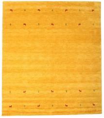 Γκάμπεθ Loom Two Lines - Yellow Χαλι 240X290 Σύγχρονα Κίτρινος/Πορτοκαλί (Μαλλί, Ινδικά)