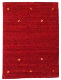 Γκάμπεθ Loom Two Lines - Κόκκινα Χαλι 140X200 Σύγχρονα Kόκκινα/Σκούρο Κόκκινο (Μαλλί, Ινδικά)