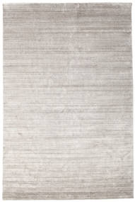 Μπαμπού Μετάξι Loom - Warm Γκρι Χαλι 200X300 Σύγχρονα Ανοιχτό Γκρι ( Ινδικά)