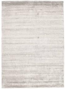 Μπαμπού Μετάξι Loom - Warm Γκρι Χαλι 140X200 Σύγχρονα Ανοιχτό Γκρι ( Ινδικά)