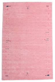 Γκάμπεθ Loom Frame - Ροζ Χαλι 190X290 Σύγχρονα Ανοιχτό Ροζ/Ροζ (Μαλλί, Ινδικά)