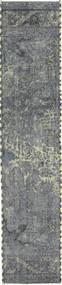 Colored Βιντάζ Χαλι 57X278 Σύγχρονα Χειροποιητο Χαλι Διαδρομοσ Ανοιχτό Γκρι/Μπλε (Μαλλί, Περσικά/Ιρανικά)