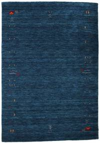 Γκάμπεθ Loom Frame - Σκούρο Μπλε Χαλι 140X200 Σύγχρονα Σκούρο Μπλε (Μαλλί, Ινδικά)
