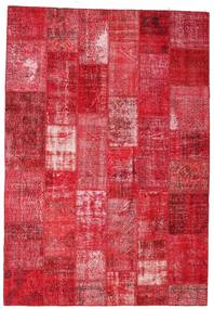 Patchwork Χαλι 201X295 Σύγχρονα Χειροποιητο Kόκκινα/Ροζ/Στο Χρώμα Της Σκουριάς (Μαλλί, Τουρκικά)