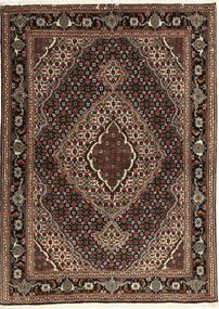 Tabriz 40 Raj Χαλι 107X149 Ανατολής Χειροποιητο Σκούρο Κόκκινο/Σκούρο Καφέ (Μάλλινα/Μεταξωτά, Περσικά/Ιρανικά)