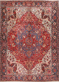 Heriz Χαλι 298X414 Ανατολής Χειροποιητο Σκούρο Κόκκινο/Καφέ Μεγαλα (Μαλλί, Περσικά/Ιρανικά)