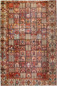 Bakhtiar Χαλι 374X570 Ανατολής Χειροποιητο Σκούρο Καφέ/Σκούρο Κόκκινο Μεγαλα (Μαλλί, Περσικά/Ιρανικά)