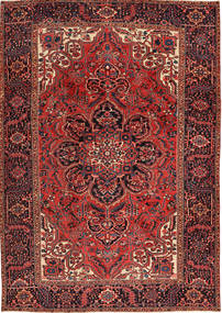 Heriz Χαλι 231X333 Ανατολής Χειροποιητο Σκούρο Κόκκινο/Σκούρο Καφέ (Μαλλί, Περσικά/Ιρανικά)