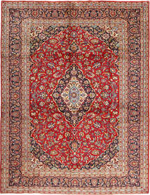 Keshan Χαλι 295X397 Ανατολής Χειροποιητο Σκούρο Κόκκινο/Στο Χρώμα Της Σκουριάς Μεγαλα (Μαλλί, Περσικά/Ιρανικά)