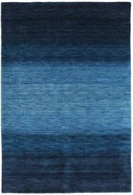 Γκάμπεθ Rainbow - Μπλε Χαλι 160X230 Σύγχρονα Σκούρο Μπλε/Μπλε (Μαλλί, Ινδικά)