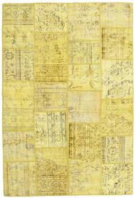 Patchwork Χαλι 158X237 Σύγχρονα Χειροποιητο Κίτρινος (Μαλλί, Τουρκικά)