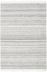Diamond Μαλλί - Γκρι Χαλι 160X230 Σύγχρονα Χειροποίητη Ύφανση Ανοιχτό Γκρι/Λευκό/Κρεμ (Μαλλί, Ινδικά)