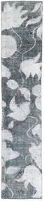 Colored Βιντάζ Χαλι 68X363 Σύγχρονα Χειροποιητο Χαλι Διαδρομοσ Μπλε/Λευκό/Κρεμ (Μαλλί, Περσικά/Ιρανικά)