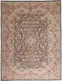 Kerman Χαλι 290X387 Ανατολής Χειροποιητο Ανοιχτό Γκρι/Σκούρο Καφέ Μεγαλα (Μαλλί, Περσικά/Ιρανικά)