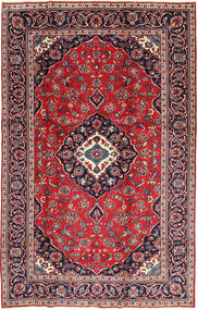 Keshan Πατίνα Χαλι 188X295 Ανατολής Χειροποιητο Σκούρο Κόκκινο/Σκούρο Μωβ (Μαλλί, Περσικά/Ιρανικά)