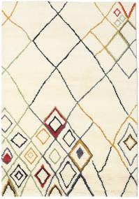 Berber Indo - Off-White/Multi Χαλι 160X230 Σύγχρονα Χειροποιητο Μπεζ/Λευκό/Κρεμ (Μαλλί, Ινδικά)