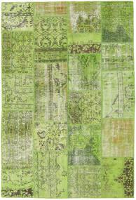Patchwork Χαλι 161X238 Σύγχρονα Χειροποιητο Ανοιχτό Πράσινο/Λαδί (Μαλλί, Τουρκικά)