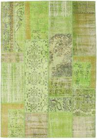 Patchwork Χαλι 161X233 Σύγχρονα Χειροποιητο Ανοιχτό Πράσινο (Μαλλί, Τουρκικά)