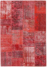 Patchwork Χαλι 160X232 Σύγχρονα Χειροποιητο Kόκκινα/Στο Χρώμα Της Σκουριάς (Μαλλί, Τουρκικά)