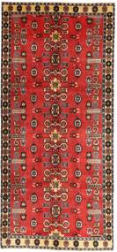 Ghashghai Πατίνα Χαλι 135X307 Ανατολής Χειροποιητο Χαλι Διαδρομοσ Σκούρο Κόκκινο/Στο Χρώμα Της Σκουριάς (Μαλλί, Περσικά/Ιρανικά)