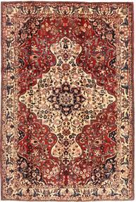 Bakhtiar Χαλι 215X315 Ανατολής Χειροποιητο Σκούρο Καφέ/Σκούρο Κόκκινο (Μαλλί, Περσικά/Ιρανικά)