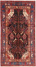 Nahavand Χαλι 151X292 Ανατολής Χειροποιητο Χαλι Διαδρομοσ Σκούρο Κόκκινο/Σκούρο Καφέ (Μαλλί, Περσικά/Ιρανικά)