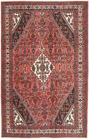 Hamadan Πατίνα Χαλι 208X318 Ανατολής Χειροποιητο Σκούρο Κόκκινο/Σκούρο Καφέ (Μαλλί, Περσικά/Ιρανικά)