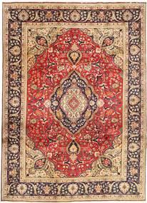 Tabriz Χαλι 246X338 Ανατολής Χειροποιητο Σκούρο Κόκκινο/Σκούρο Καφέ (Μαλλί, Περσικά/Ιρανικά)